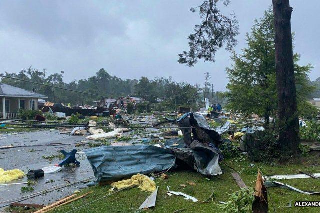Badai Tropis Claudette Di Alabama Banyak Memakan Korban