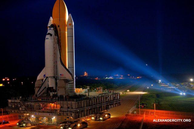 Pusat Antariksa & Roket Milik AS yang Terletak Di Alabama